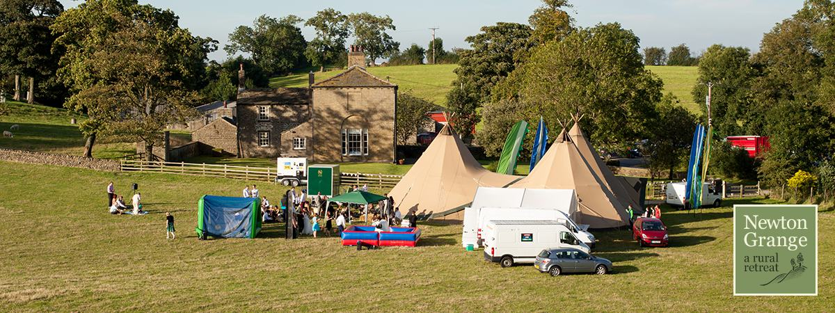 Tipees at Newton Grange