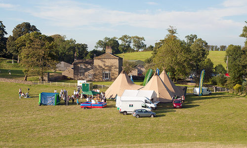 Skipton marquee site hire