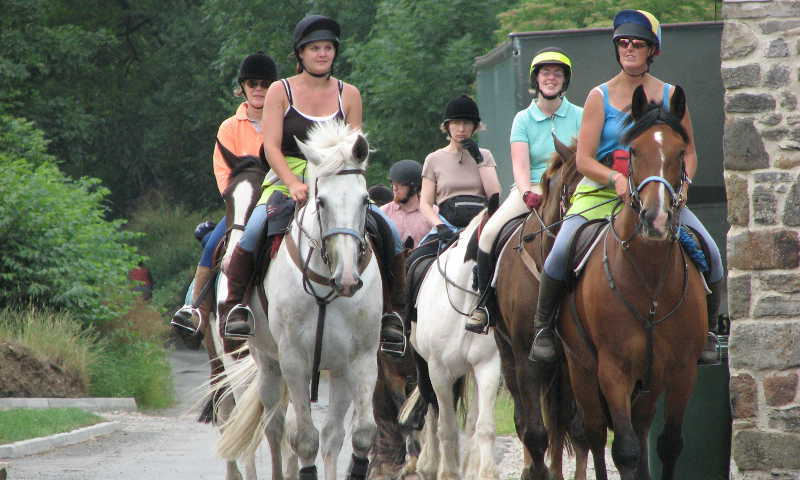 Yorkshire horse riding holiday