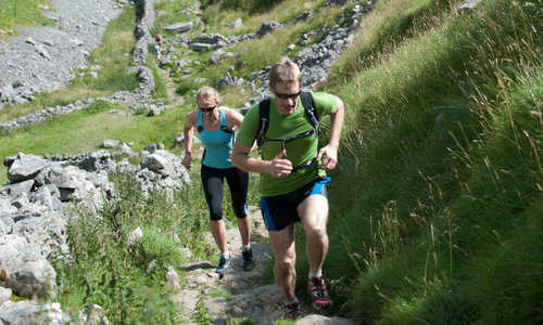 Fell running Yorkshire Dales