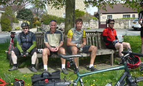Yorkshire cycling group